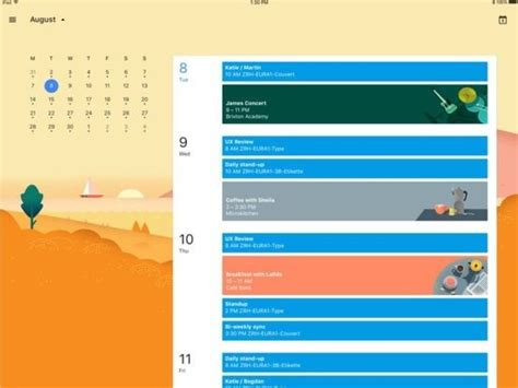kalender ipad design terminverwaltung googles kalender app f 252 rs ipad erweitert