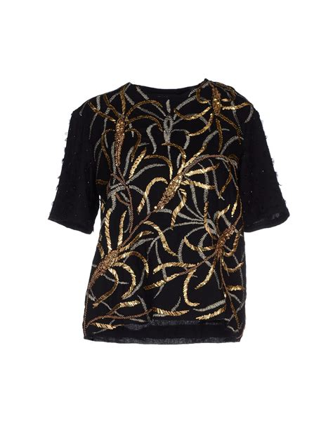 Blouse Batik Antik lyst antik batik blouse in black