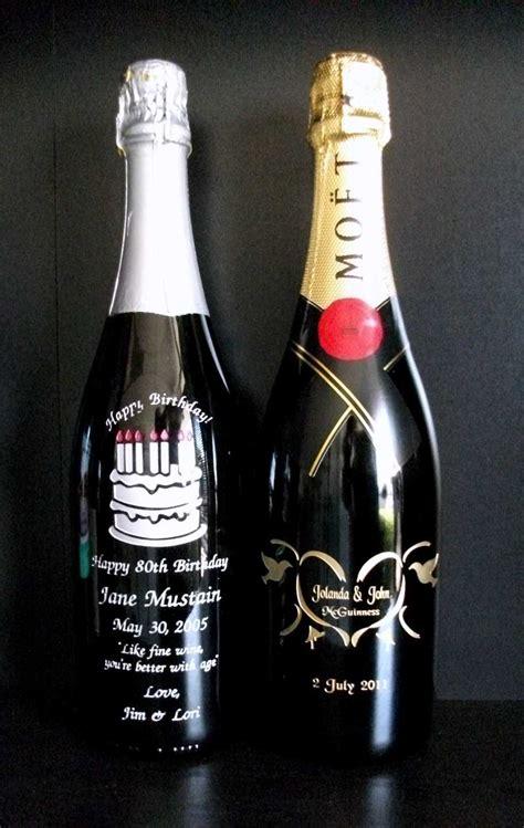 personalized  engraved wine bottle artwork  crystal