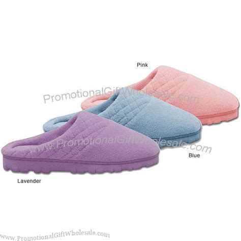 memory foam house shoes women s micro chenille memory foam clog slippers factory direct 2280158103