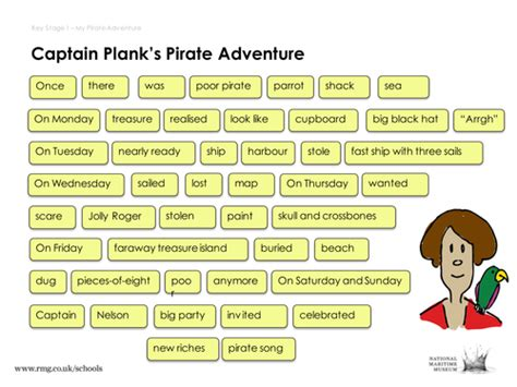 the story of new year ks1 pirate story mat words by royalmuseumsgreenwich
