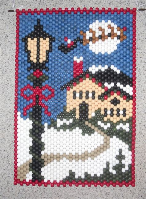 patterns christmas banners 5386 best images about beading christmas ornaments