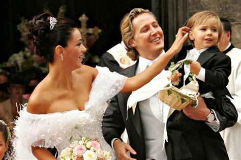 Hochzeit Verona Pooth by Verona Pooth Ihr Extravaganter Ehering Gala De