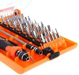 Obeng Set Untuk Laptop jakemy 42 in 1 interchangeable magnetic precision screwdriver set repair tools jm 8128