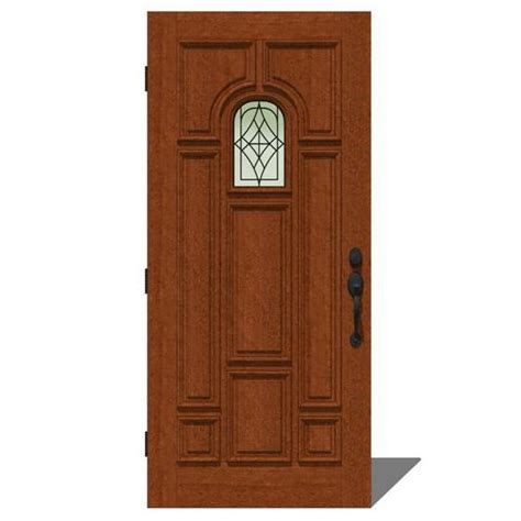 Jeld Wen Entry Doors by Jeld Wen 2009 Door Set 4 3d Model Formfonts 3d Models