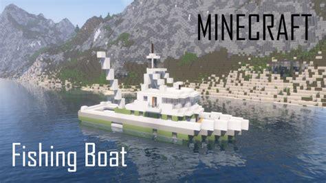 fishing boat interior fishing boat full interior minecraft project
