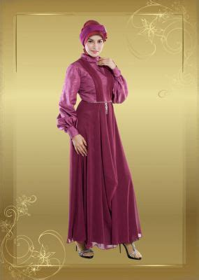 Dress Pesta Fuchia jilbab dewasa raaniya dress 014