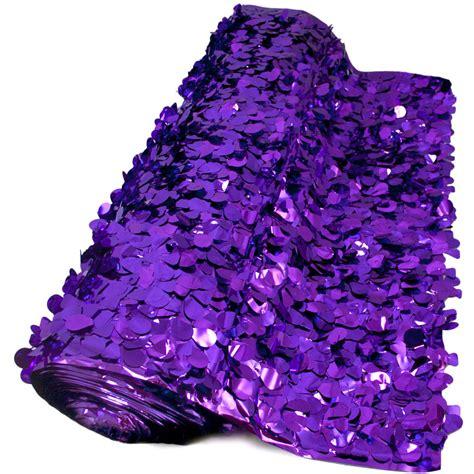 floral sheeting petal paper metallic purple  yards