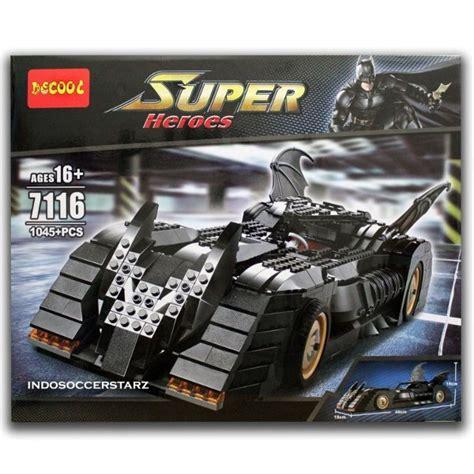 Kaos Batman Batmobile jual lego decool 7116 batman the ultimate batmobile di