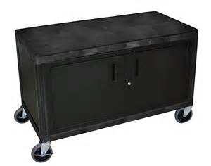 storage utility wide coffee cart with locking