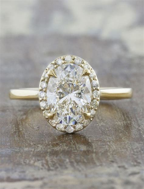 2050 Diana Princess Mocca Set dianara stunning oval halo engagement ring ken
