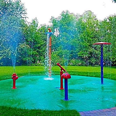 Backyard Sprinkler Park by 1000 Images About Splash Pad Gallery On Water