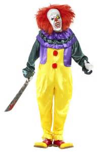 Scary Clown Costumes Classic Horror Clown Costume