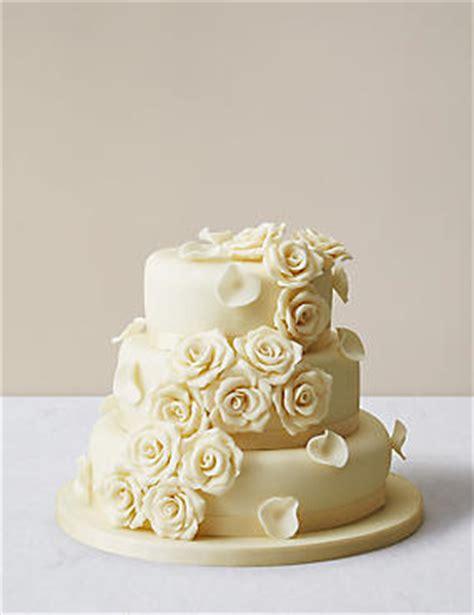 Wedding Cakes   3 Tier, 2 Tier & 4 Tier Wedding Cakes   M&S