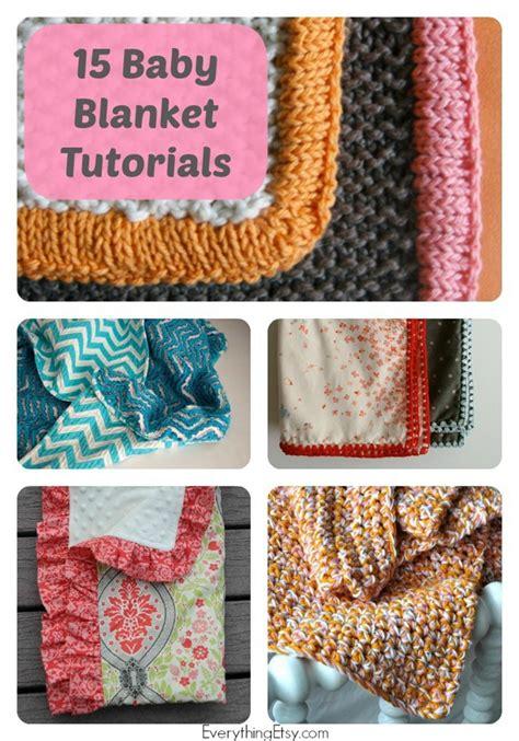 Handmade Tutorials - 15 handmade baby blanket tutorials