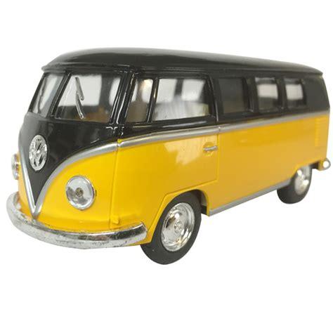 Diecast Vw Kombi 1962 Vw Kombi Diecast 5 Quot Black Top Yellow Home Decor
