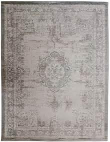 oldtimer teppich vintage teppich beige sand grau silber