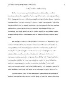 Struggle Of The Orders Essay by Conflict Resolution And Peacemaking Paper