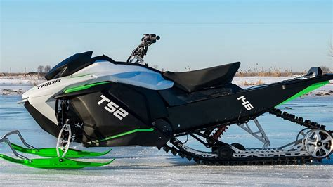 boat trader montreal montreal company unveils world s first electric snowmobile