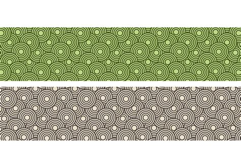 crazy circles  seamless pattern   vector