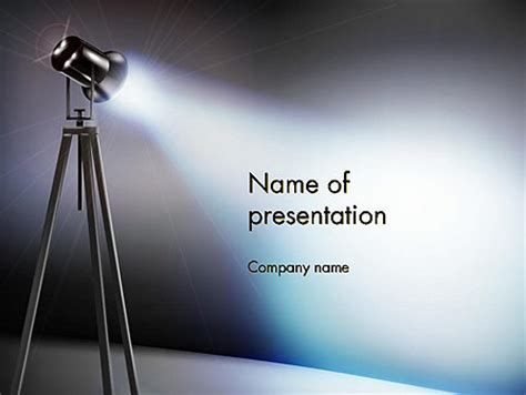 Spotlight Powerpoint Templates And Backgrounds For Your Presentations Download Now Spotlight Powerpoint Template