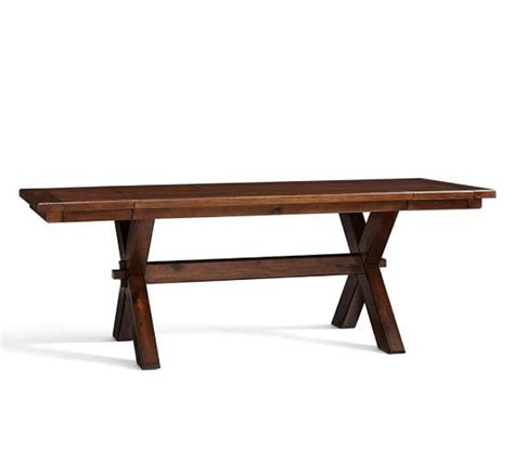 toscana extending dining table from pottery barn three