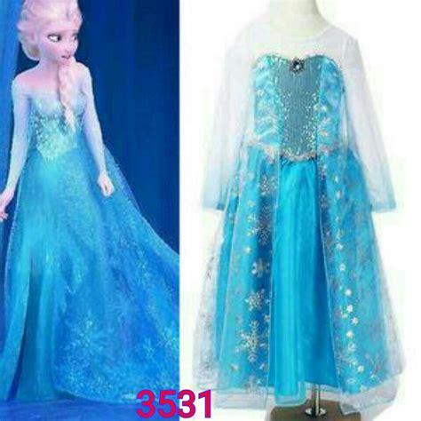 Baju Gamis Frozen baju gamis frozen tanah abang gamis murahan