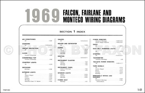1969 ford wiring diagram 24 wiring diagram images