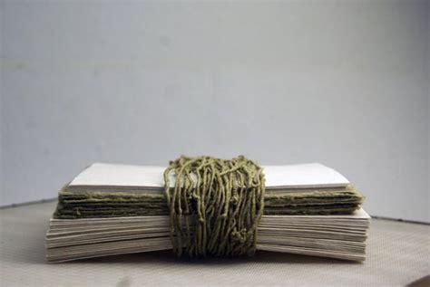 Handmade Seed Paper - handmade seed paper invitation kit 4 5x6 aspen green