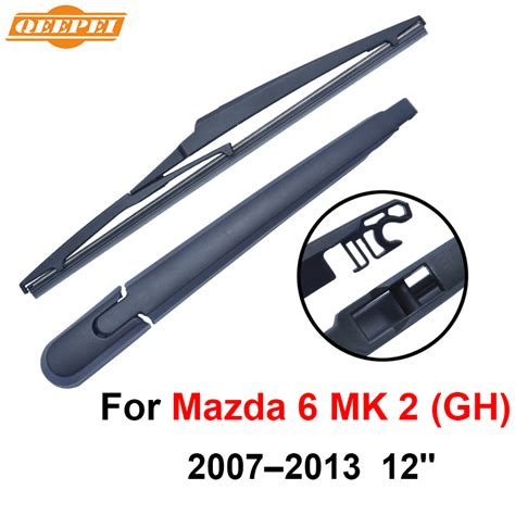 Wiper Blade Kanebo Mazda 2 2buahsepasang qeepei rear wiper blade and arm for mazda 6 mk 2 gh 2007 2013 12 5 door wagon high quality