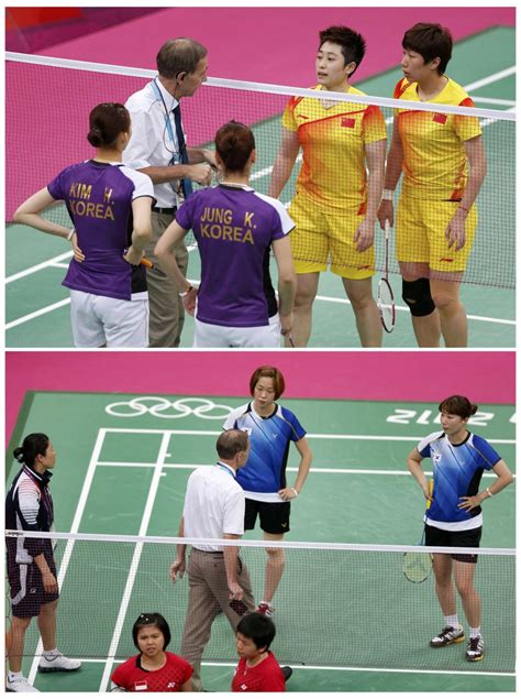 controversy hits olympics 8 badminton players disqualified photos ibtimes india