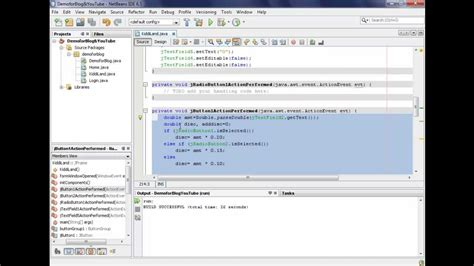swing controls in netbeans working with swing controls in netbeans ide youtube