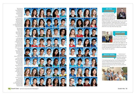 Yearbook Section Ideas by Robinson Middle School Fairfax Va 2013 Yearbook