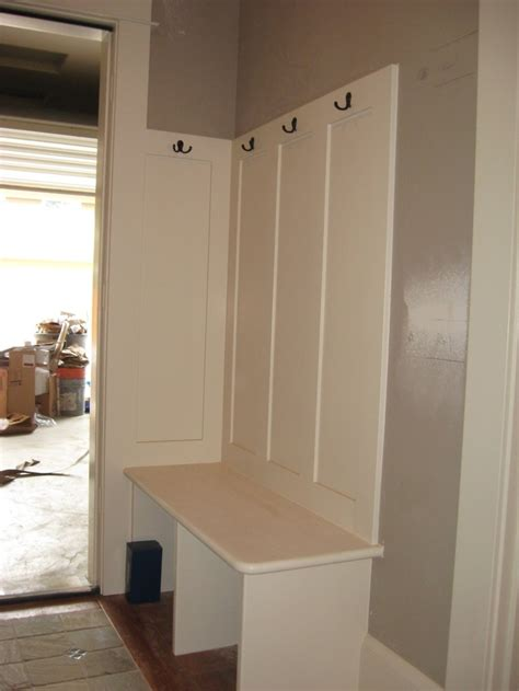 built in entry bench entryway bench mud room pinterest
