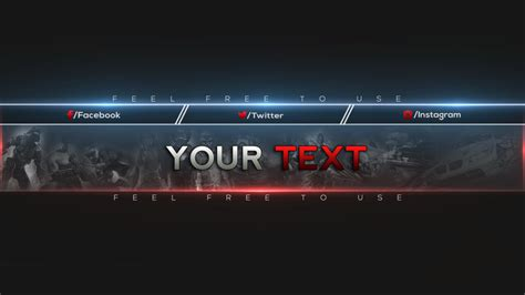 cool youtube channel art templates lovely free youtube banner
