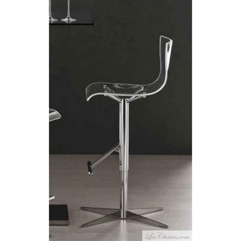 Tabourets De Bar Transparents by Tabouret De Bar Transparent Design Oscar Et Tabourets