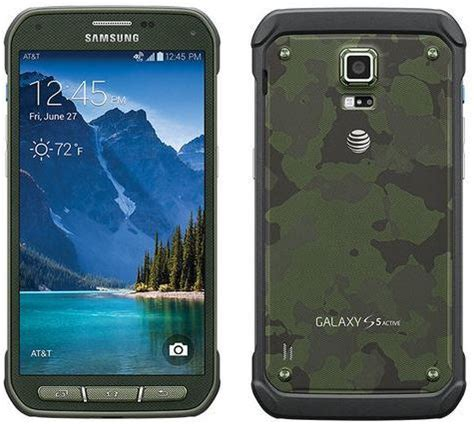 galaxy s5 rugged samsung galaxy s5 active 16gb rugged waterproof camouflage