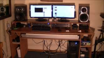 how to build a recording studio desk in under 100 soldierstudio com