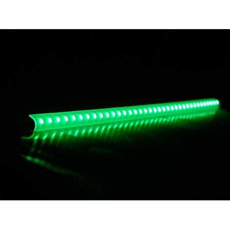 Green Led Light Bars Logisys 16 Quot Green Led Corner Light Bar Lcx16gn