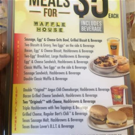 waffle house five dollar menu waffle house closed 14 photos diners sandy springs ga reviews menu yelp