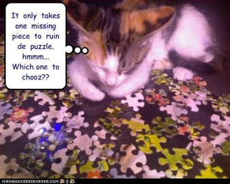 Oh No Now We Know What Happened To That Missing Piece | 7 best funny jigsaw puzzle stuff images on pinterest