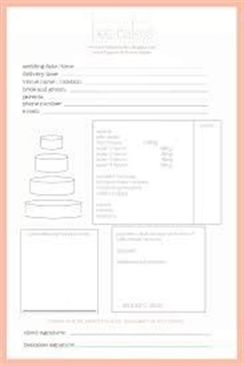 Pin By Tiffany Phillips On Cake Order Forms Pinterest Order Form Cake And Bakeries Dessert Table Contract Template