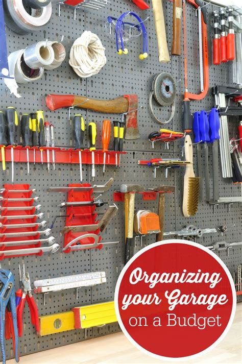 how to organize my house on a budget 69 best images about garage storage on pinterest