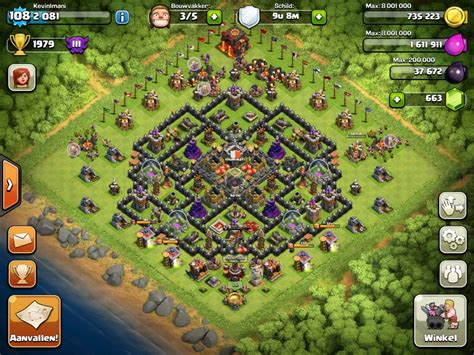 coc village layout tips clash of clans tips town hall level 10 layouts