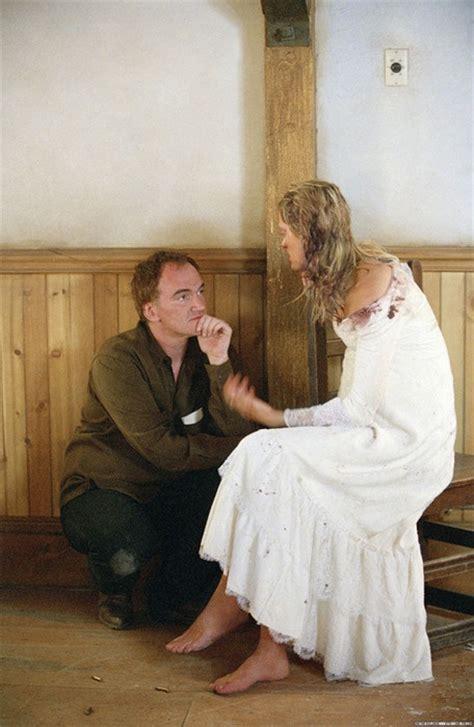 Uma Thurmans Wedding by Quentin Tarantino And Uma Thurman On The Set Of Kill Bill