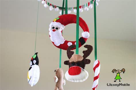 themes christmas for mobile christmas baby crib mobile felt mobile nursery