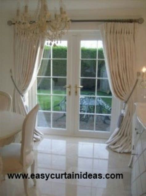 door window curtain ideas curtain idea for french doors curtains pinterest