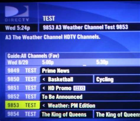 d* complete list of mpeg4 channels in engineering mode