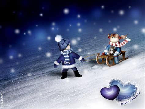 Winter Love Wallpapers | HD Wallpapers | ID #6559 3d Wallpaper For Winter