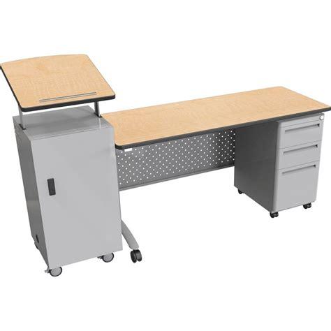 Lectern Desk by All Podium Desk Set By Balt Options Desks Worthington